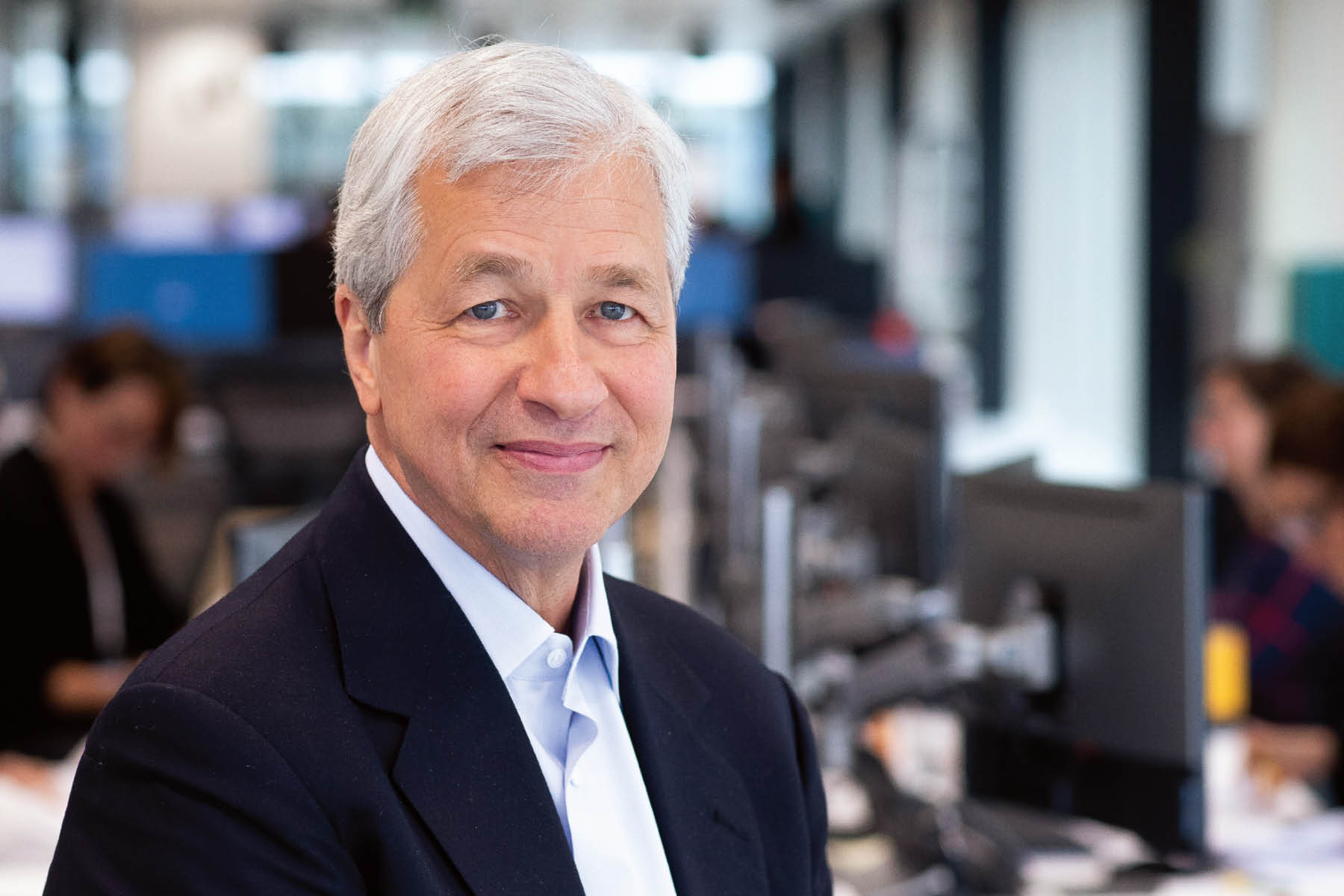 Photo of Jamie Dimon, Chief Executive Officer and Chairman of the Board of JPMorgan Chase & Co.