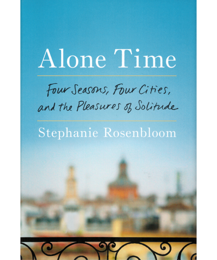 Alone Time by Stephanie Rosenbloom book cover