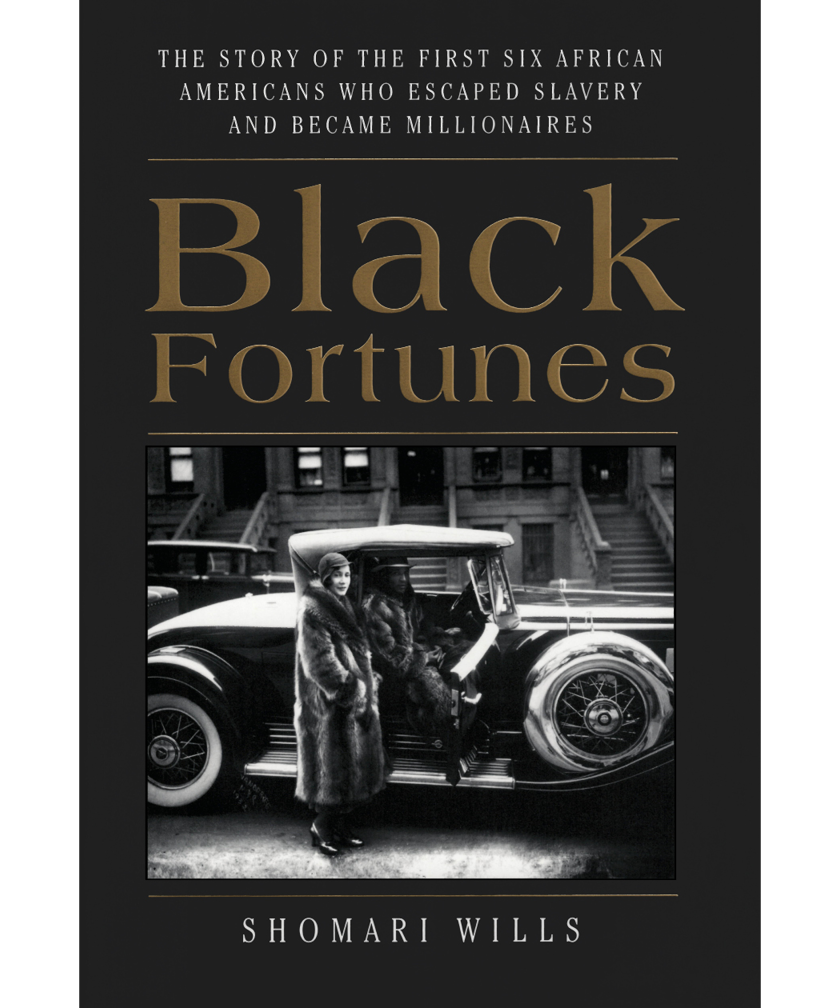 Black Fortunes by Shomari Wills book cover
