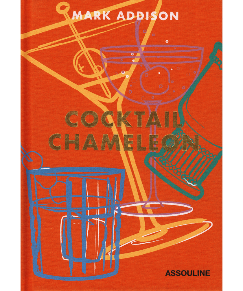 Book cover of Cocktail Chameleon by Mark Addison