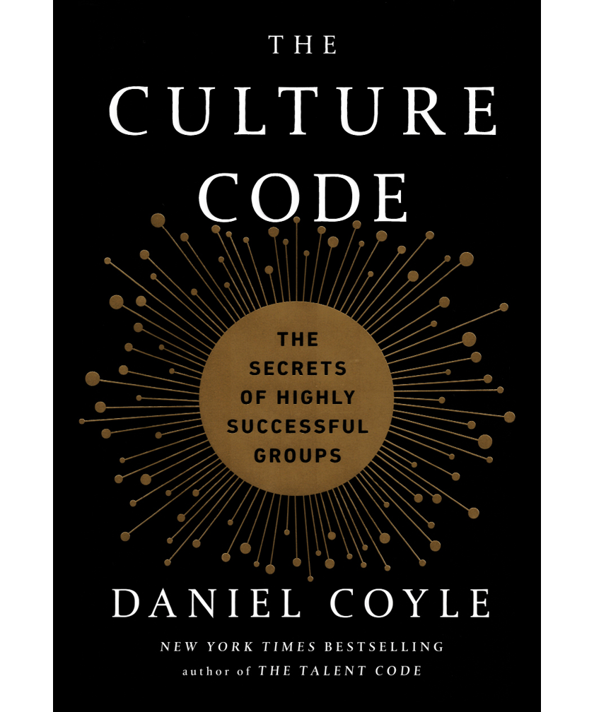 Book cover of The Culture Code by Daniel Coyle