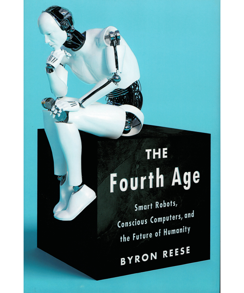 Book cover of The Fourth Age by Byron Reese