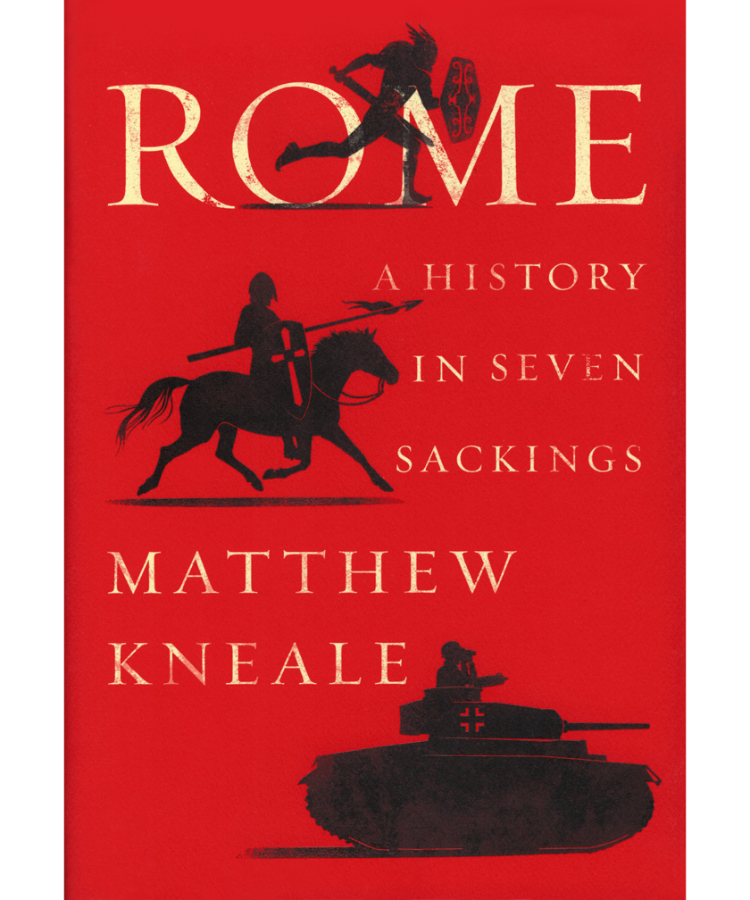 Book cover of Rome by Matthew Kneale