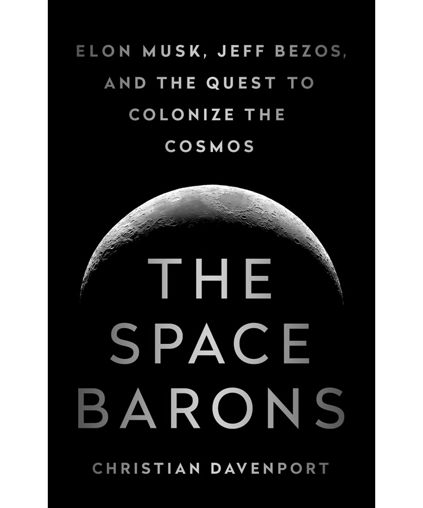 Book cover of The Space Barons by Christian Davenport