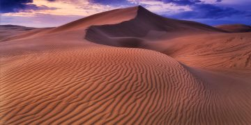 Stock photograph of a dune.