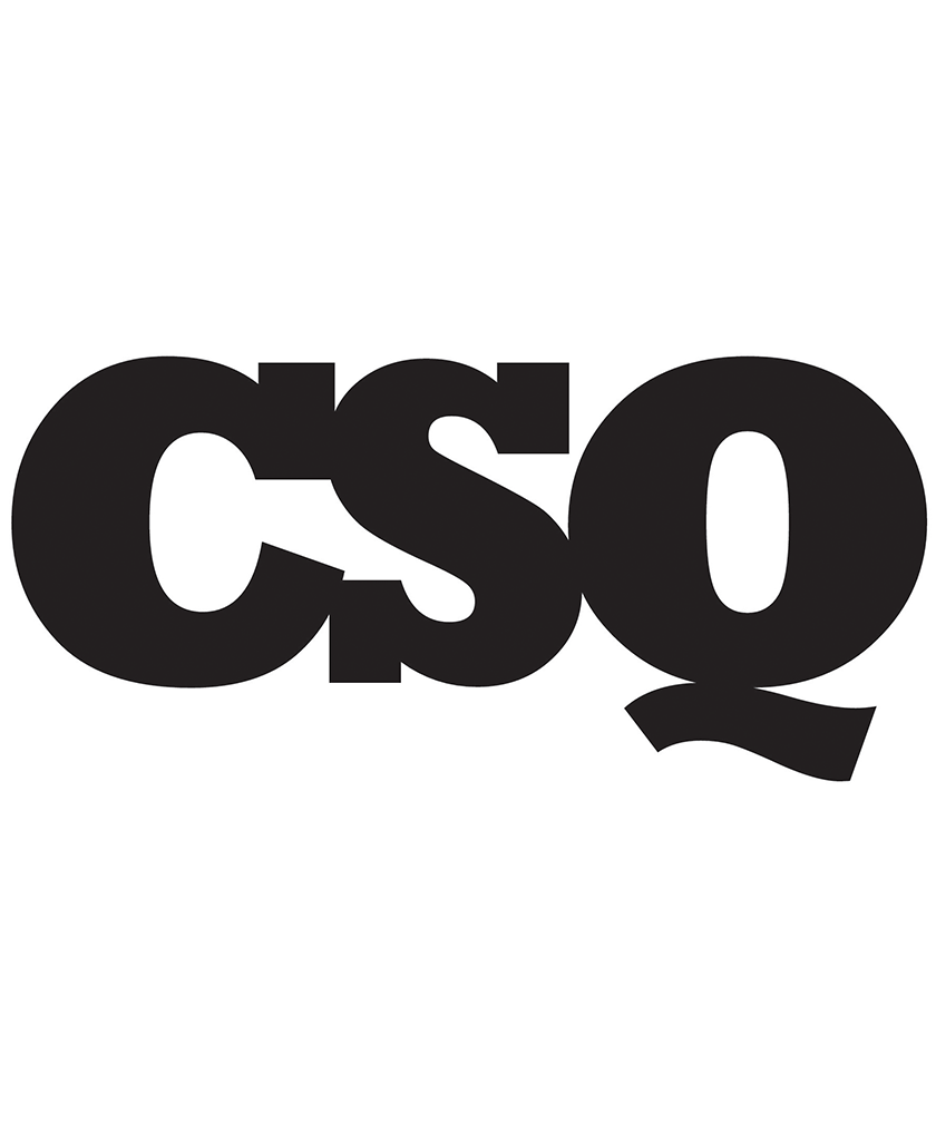 "CSQ logo: ""CSQ"" in thick black lettering against a white background."